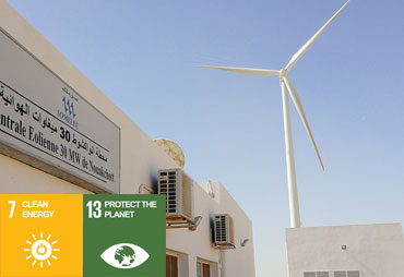 Pioneering wind project in Mauritania